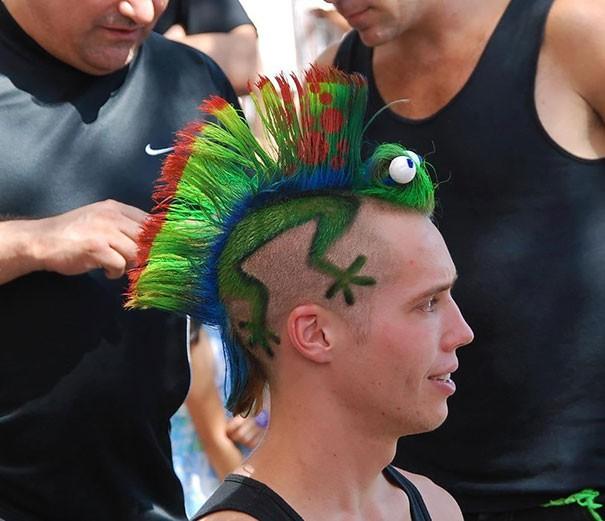 most weird haircuts ever